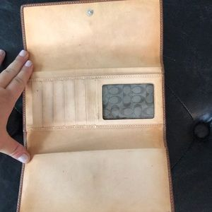 Coach Bags - Coach wallet in previously loved condition